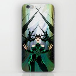 Absolute Power iPhone Skin