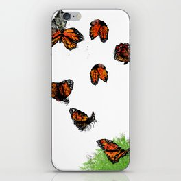 Butterfly (2) iPhone Skin