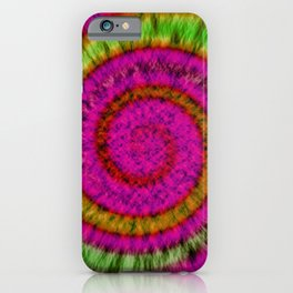 Tie Dye // Highlighters iPhone Case