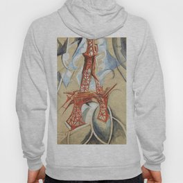 "Robert Delaunay ""Eiffel Tower"" (also known as The Red Tower) Hoody"