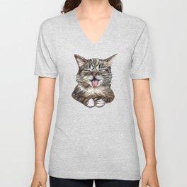 Cat *Lil Bub* Unisex V-Neck