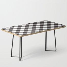 Gingham - Black Coffee Table