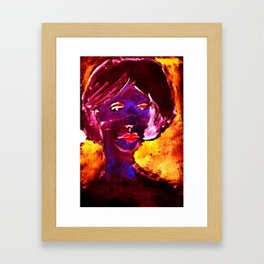 laurene - Jean-Louis Moray  Framed Art Print