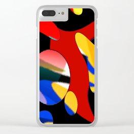 ha bla Clear iPhone Case