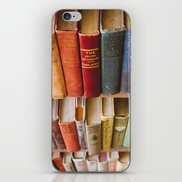 The Colorful Library iPhone Skin