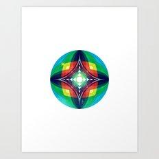 Chromasphere Art Print