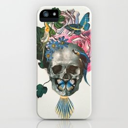 Blue Spring iPhone Case