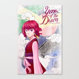 Yona of the Dawn Canvas Print