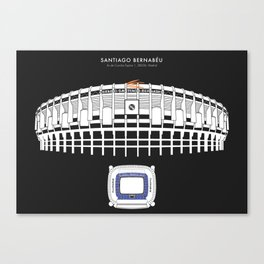 Santiago Bernabéu - Real Madrid Stadium  Canvas Print