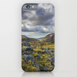 Nant Ffrancon Valley iPhone Case