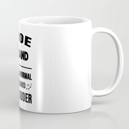 Oboe Husband Like A Normal Husband Just Louder Coffee Mug