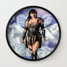 Xena: Warrior Princess Wall Clock