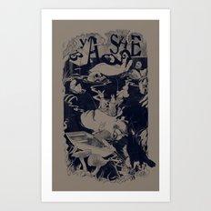 REM STAGE Art Print