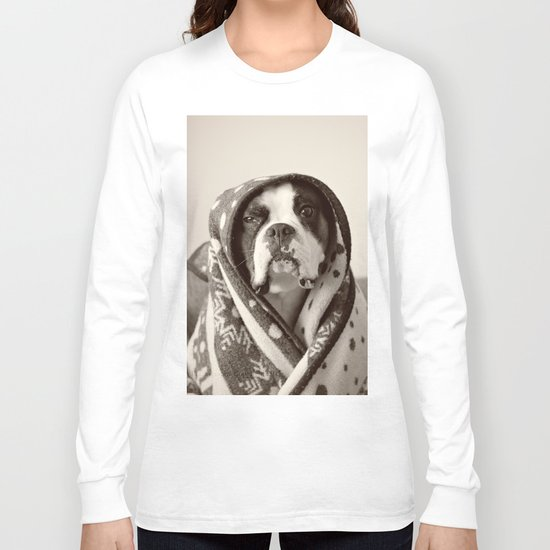 Obi Wan (Buck the world's most lovable boxer dog) Long Sleeve T-shirt