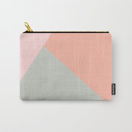 Cool modern pastel colors abstract pattern Carry-All Pouch
