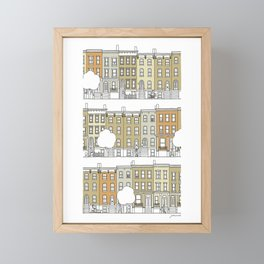 Brooklyn (color) Framed Mini Art Print