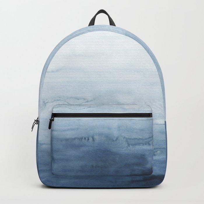 Indigo Abstract Painting | No. 5 Backpack