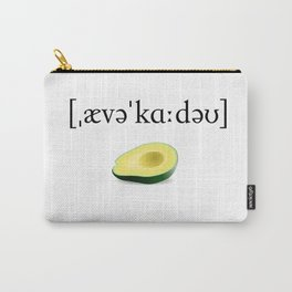 Avocado Phonetic Carry-All Pouch