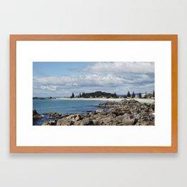Mt Maunganui Framed Art Print