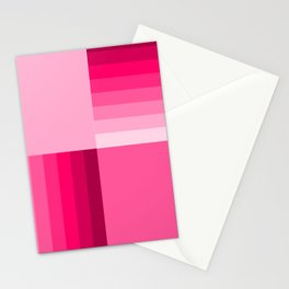 pink home decor pattern Stationery Cards