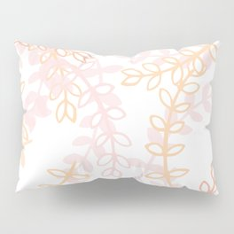 Kay - Blush and Pink Floral Print Pillow Sham