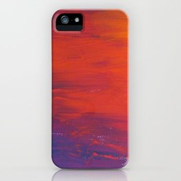 To Add Colour to My Sunset Sky iPhone Case