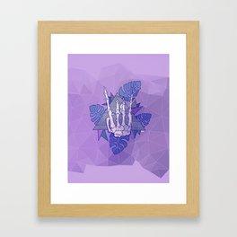 RockSKULL Framed Art Print