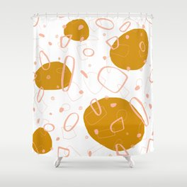 Doodle Pattern 03 #society6 #doodle Shower Curtain