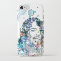 dave grohl iPhone & iPod Cases featuring Dave Grohl by NKlein Design
