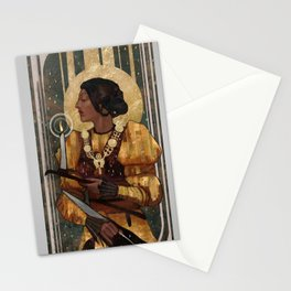 Josephine Montilyet Tarot Card Stationery Cards