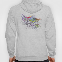 Dreams are made winding through her hair Hoody