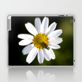 Green bug in daisy Laptop & iPad Skin