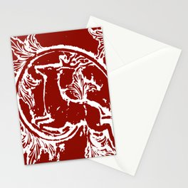 Asheville Stags a Leaping Stationery Cards