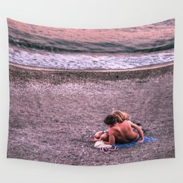 Sunset photo Wall Tapestry