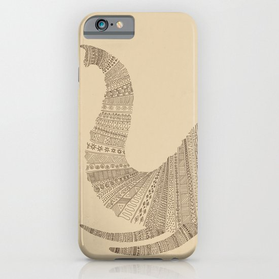 Elephant (On Paper) iPhone & iPod Case