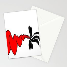 hard love Stationery Cards