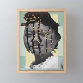 Discombobulated Two Framed Mini Art Print