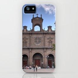Las Palmas Cathedral iPhone Case