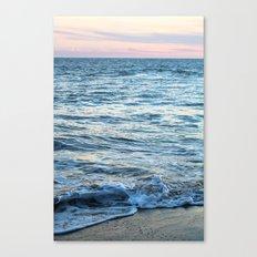 California Waves Canvas Print