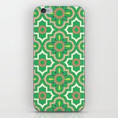Medallions - Emerald iPhone & iPod Skin