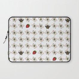 Precious Bee Pattern Laptop Sleeve