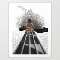 bass Art Prints featuring bass by Ilenia Locci