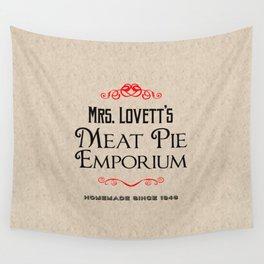 Mrs. Lovett's Meat Pie Emporium (Sweeney Todd) Wall Tapestry