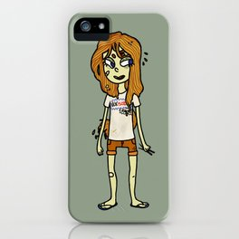 noodle girl iPhone Case