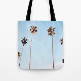 LA Palm Trees Tote Bag