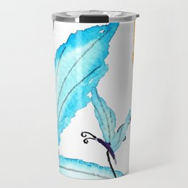 colorful flying butterflies Travel Mug