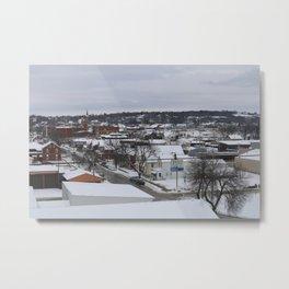 Winter in Dubuque Metal Print