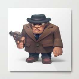 mobster Metal Print
