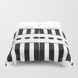 """Dot Your j's - The Didot """"j"""" Project Duvet Cover"""