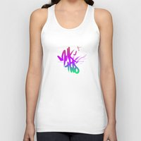 type Tank Tops featuring TYPE by TMSYO